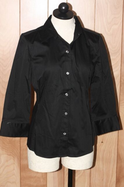 WOMEN'S BANANA REPUBLIC FITTED SHIRT-SIZE: MEDIUM