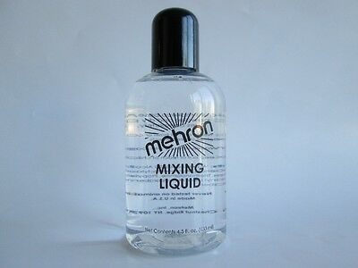 MEHRON MIXING LIQUID 4.5OZ BODY FACE PAINTING BASE THEATRICAL STAGE MAKEUP