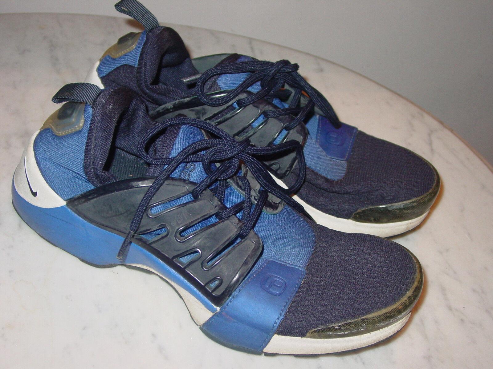2001 nike air presto blu / bianco in basso le scarpe da corsa!dimensioni m (10 - 11)