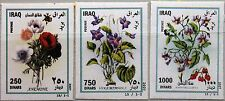 IRAQ IRAK 2007 1734-36 Blumen Flowers Flora Pflanzen Plants Veilchen Rose MNH