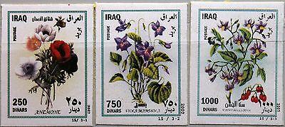 Diszipliniert Iraq Irak 2007 1734-36 Blumen Flowers Flora Pflanzen Plants Veilchen Rose Mnh 2019 New Fashion Style Online Irak