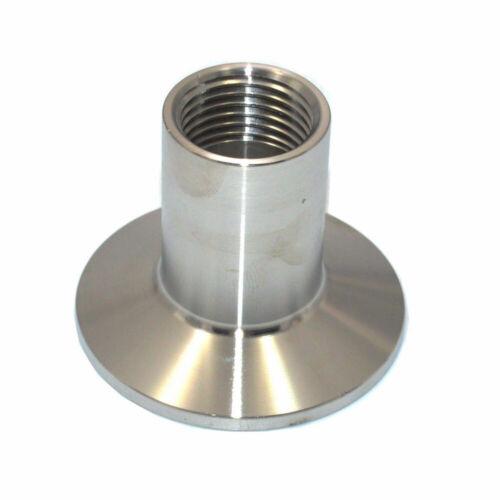 """1//2 /""""NPT Rohr Montage Sanitär weiblich Hochdruck 5 mm Ferrule Tri Clamp SS304"""