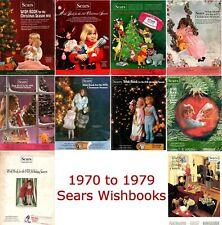 Sears Wishbook Catalogs Disc (1970,1971,1972,1973,1974,1975,1976,1977,1978,1979)