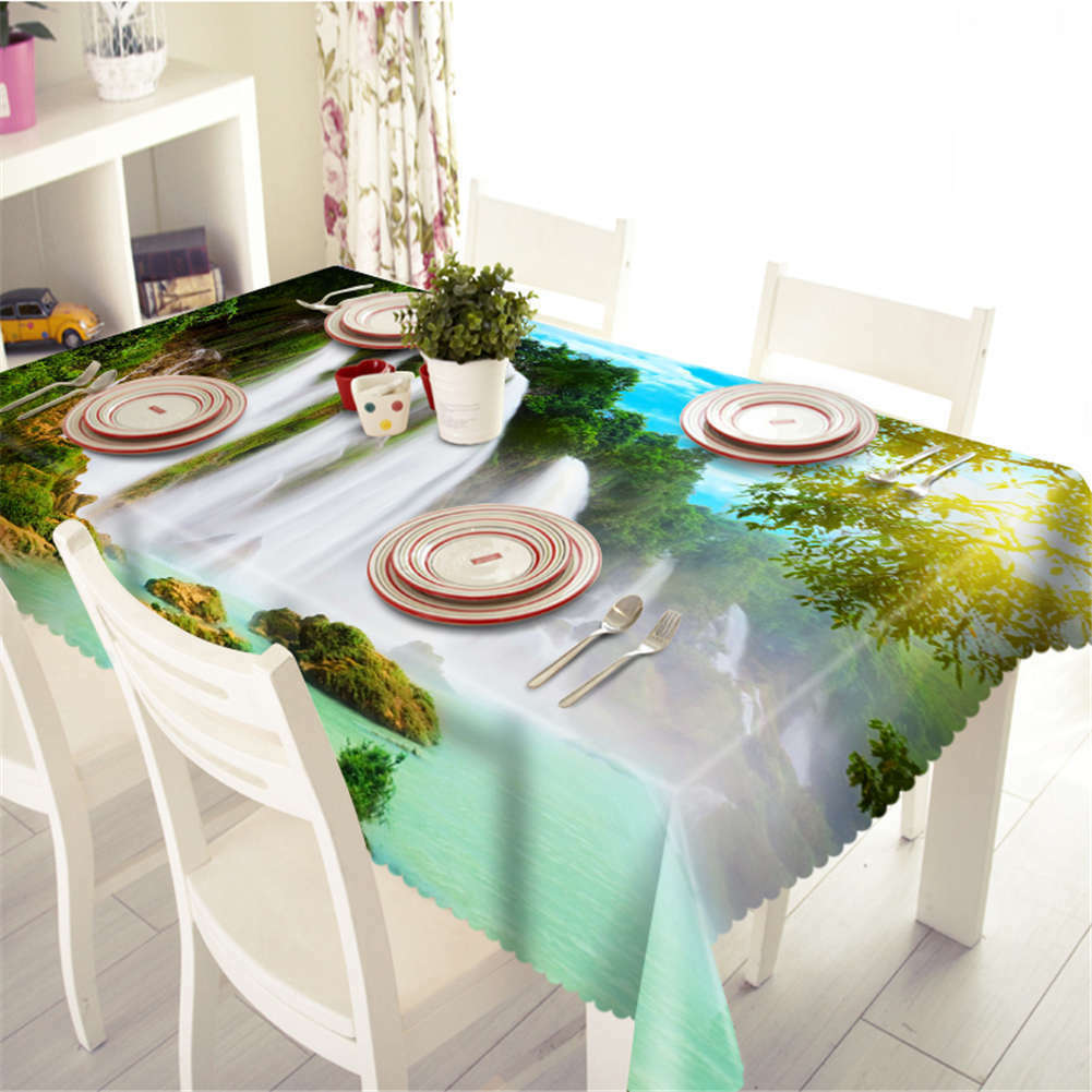 Sun Is Shining 3D Tablecloth Table cover Cloth Rectangle Wedding Wedding Wedding Party Banquet bf2ca4