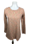 Pure-J-Jill-Women-039-s-Size-S-Knit-Brushed-Mixed-Long-Sleeve-Top-Shirt-Scoop-Neck thumbnail 1
