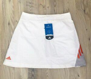 ADIDAS-ORIGINAL-falda-de-Tenis-short-T-42-skirt-Adidas-NEW-Whit-tags