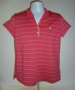 Adidas-Golf-Women-039-s-Climalite-Polo-Shirt-Pink-Size-Large-C-6