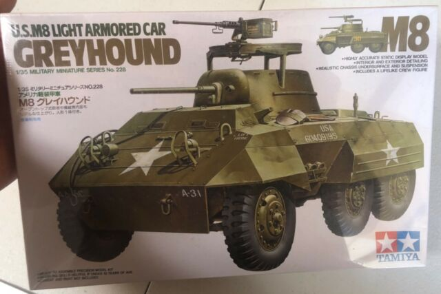 Tamiya US M8 Light Armored Car Greyhound 1/35 FS NEW Model Kit 'Sullys Hobbies'
