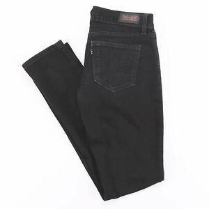 LEVI-039-S-524-Too-Superlow-Black-Skinny-Fit-Women-039-s-Jeans-W29-L32