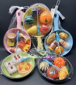 2pc Pretend Food Kitchen Set Pans Toy Play Hamburger Cake Shop Kids Gift Xmas Ebay