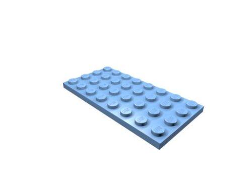 neu 3035 LEGO Platte 4 x 8 10 x mittelblau