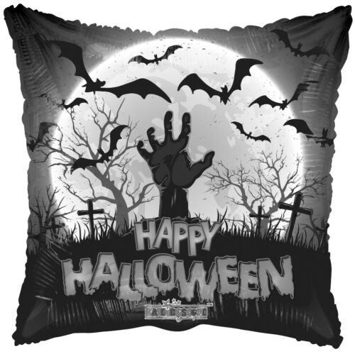 Zombie Grave Skeleton Halloween Foil Helium Air Balloons Party Ware Decoration