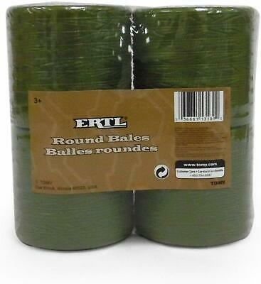 1:16 ERTL *PACKAGE OF 4* ROUND HAY BALE TOYS *BRAND NEW!*