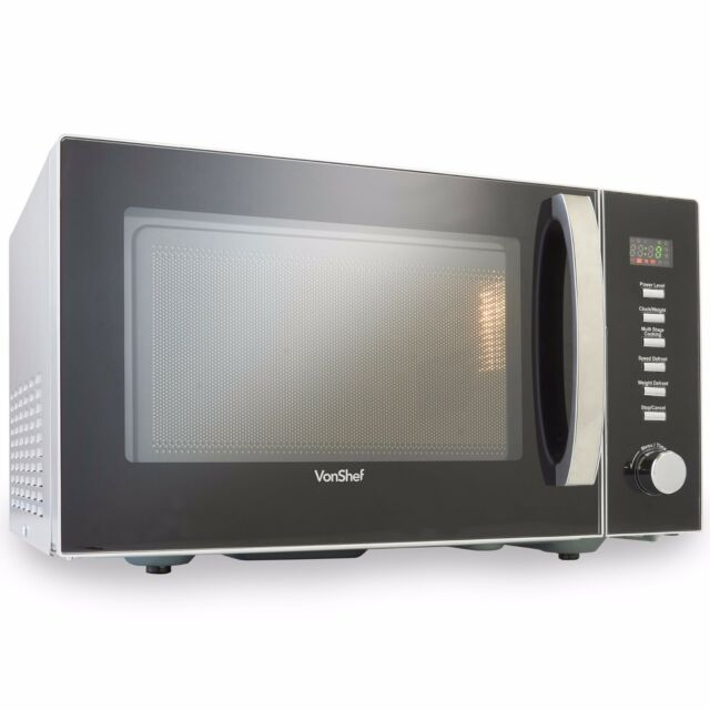 VonShef Large 23 Litre Microwave Oven Solo Countertop