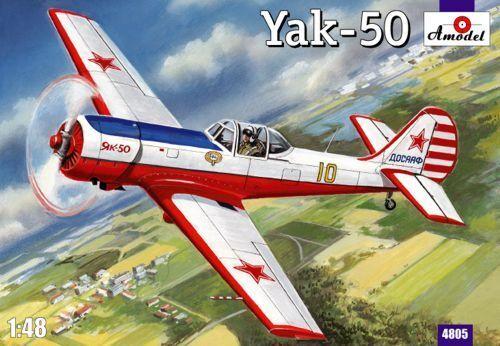 AMODEL 1 48 YAKOVLEV yak-50