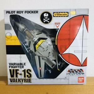 Macross Valkyrie VF-1S Roy Focker Bandai 1//55 scale Action Figure