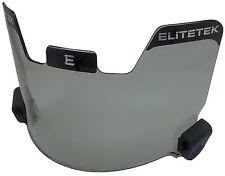 EliteTek Football Eye-shield Visor (Smoke Tinted)