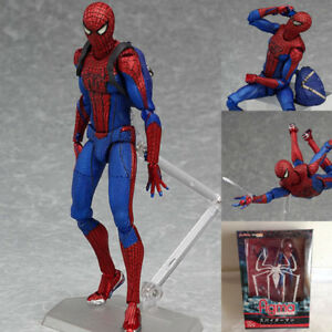 The-Amazing-Spider-Man-Figma-199-PVC-Action-Figur-Sammlerstueck-Modell-Spielzeug