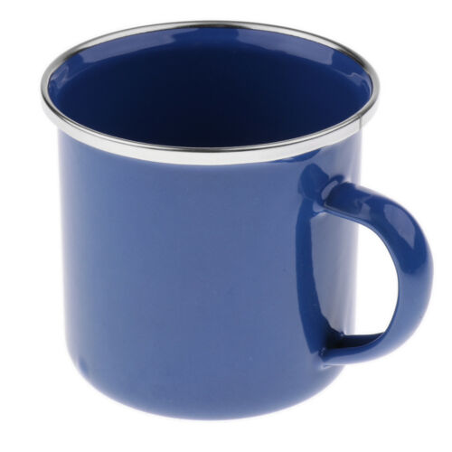 Emaille Becher Tasse Emailwaren Tee Tasse Vintage Style Tolles Geschenk