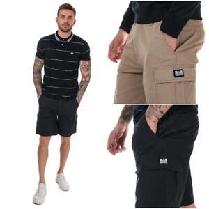 Homme-Weekend-Offender-High-Desert-Coton-Shorts-en-pierre-et-bleu-marine