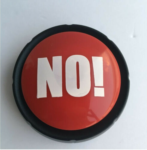Yes and No Buzzer Buttons Funny 10 Ways to say YES and 10 Ways to say NO NEW