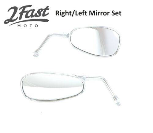 Yamaha Mirror Replacement Set Right Left Side Chrome for Road Star Cruisers