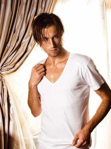 Pacco 3er//2er PACK X-Man Uomo V T-shirt Business sotto camicia a maniche corte shirt