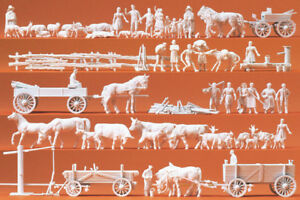 Preiser-16327-Rural-Groupes-Equipes-Figurines-H0