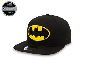 NEW ERA 9FIFTY TEAM LOGO WELD BATMAN OTC SNAPBACK CAP CAP BLACK ... 779a91172d1
