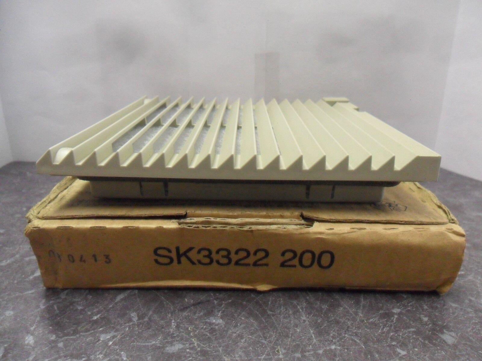 New Rittal SK3322 200 Outlet Fan Filter NIB
