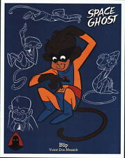 SPACE GHOST - BLIP MODEL SHEET Pin Up Poster HB TV