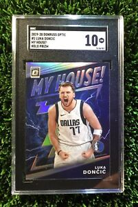 2019-Luka-Doncic-Panini-Donruss-Optic-My-House-Holo-SGC-10-Comp-PSA-BGS-Silver