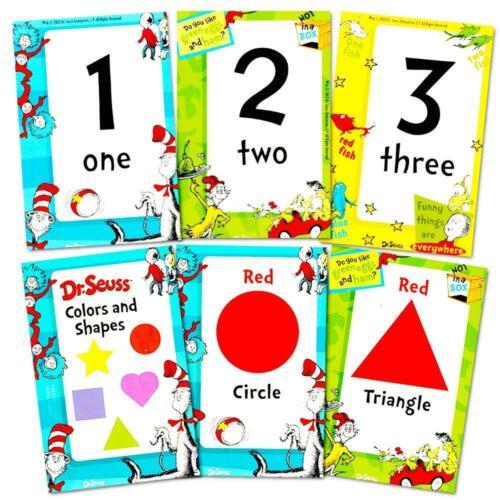 Dr 4 Packs ... 144 Seuss Flash Cards Super Set Toddler Kids