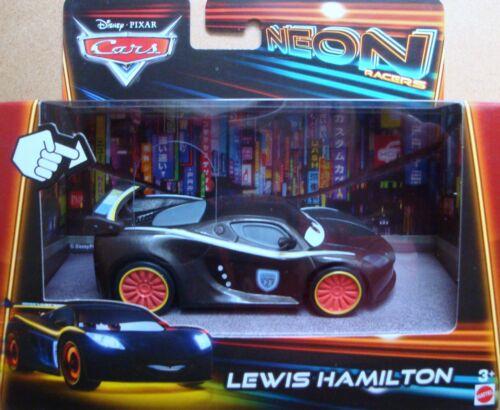 Mattel ® Disney ® pixar Cars NEON racers avec lumière Assortiment