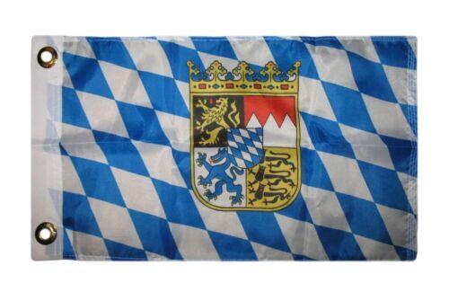 12x18 30.5cmx45.7cm Bavaria Bayerisch Boot Auto Motorrad Flagge Haus Banner Ösen