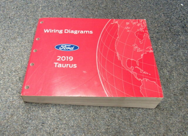 2019 Ford Taurus Electrical Wiring Diagrams Service Manual