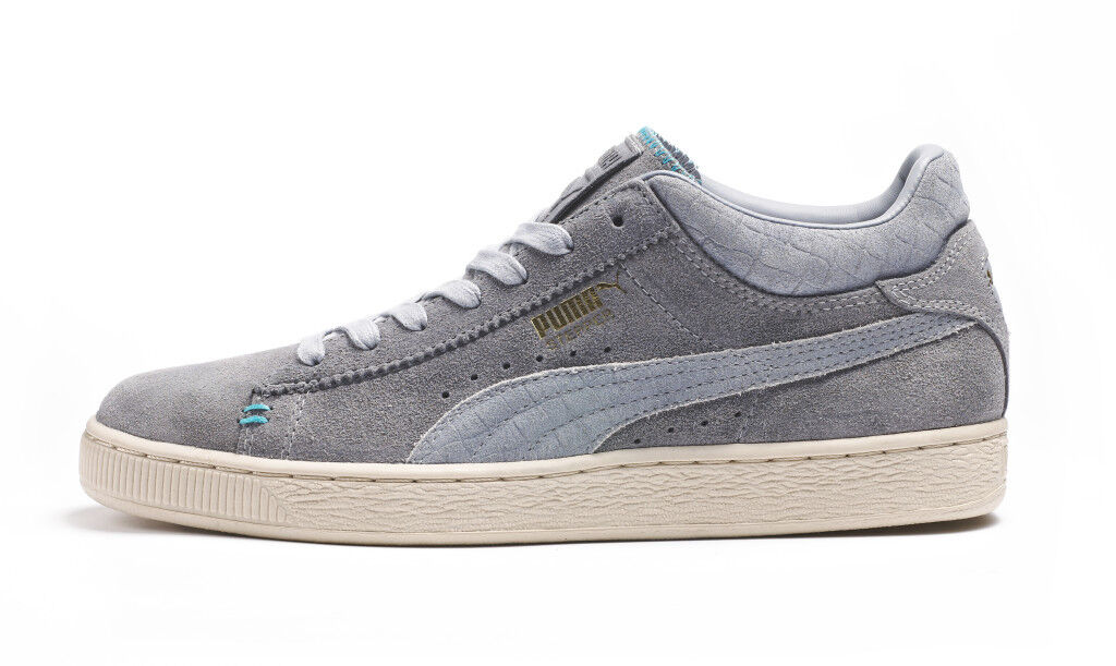 Puma Stepper Crafted # 356170 02 Grey Uomo Sz 7.5 - 12
