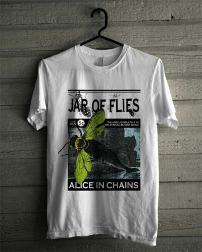 Vintage    Alice In Chains Jar of Flies Concert tour Rare 1994 T-Shirt New.