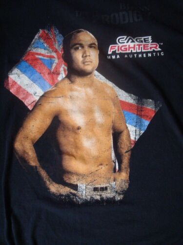 BJ Penn Cage Fighter T-Shirt, Size Large, Nice Condition!
