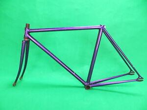 Bridgestone-Keirin-Frame-Set-Track-Bike-Fixed-Gear-Single-Speed-NJS-48-5cm