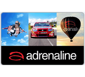 Adrenaline Gift Card $50 or $100  - Email Delivery via PayPal