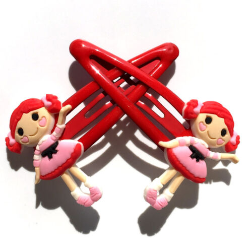 1Pair Lalaloopsy Kids Baby Hair Clip Hairpin Hair Holder Accessories Party Gift