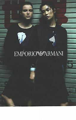 Amicable Publicite 2012 Armani Haute Couture Nouvelle Collection 2012/2013 Superior Performance Collectibles