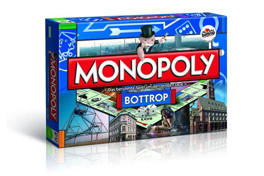 Original - monopol bottrop stadt ausgabe cityedition stadt brettspiel spiel neu