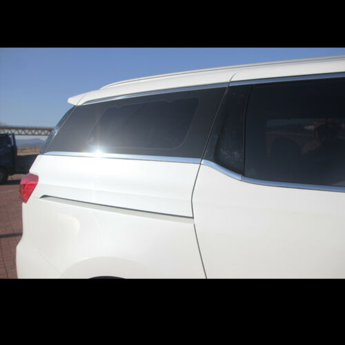 2016~2017+ All New Carnival Chrome Window Trim Molding Garnish For Kia Sedona
