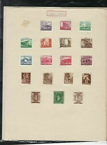 hungary stamps page ref 18448