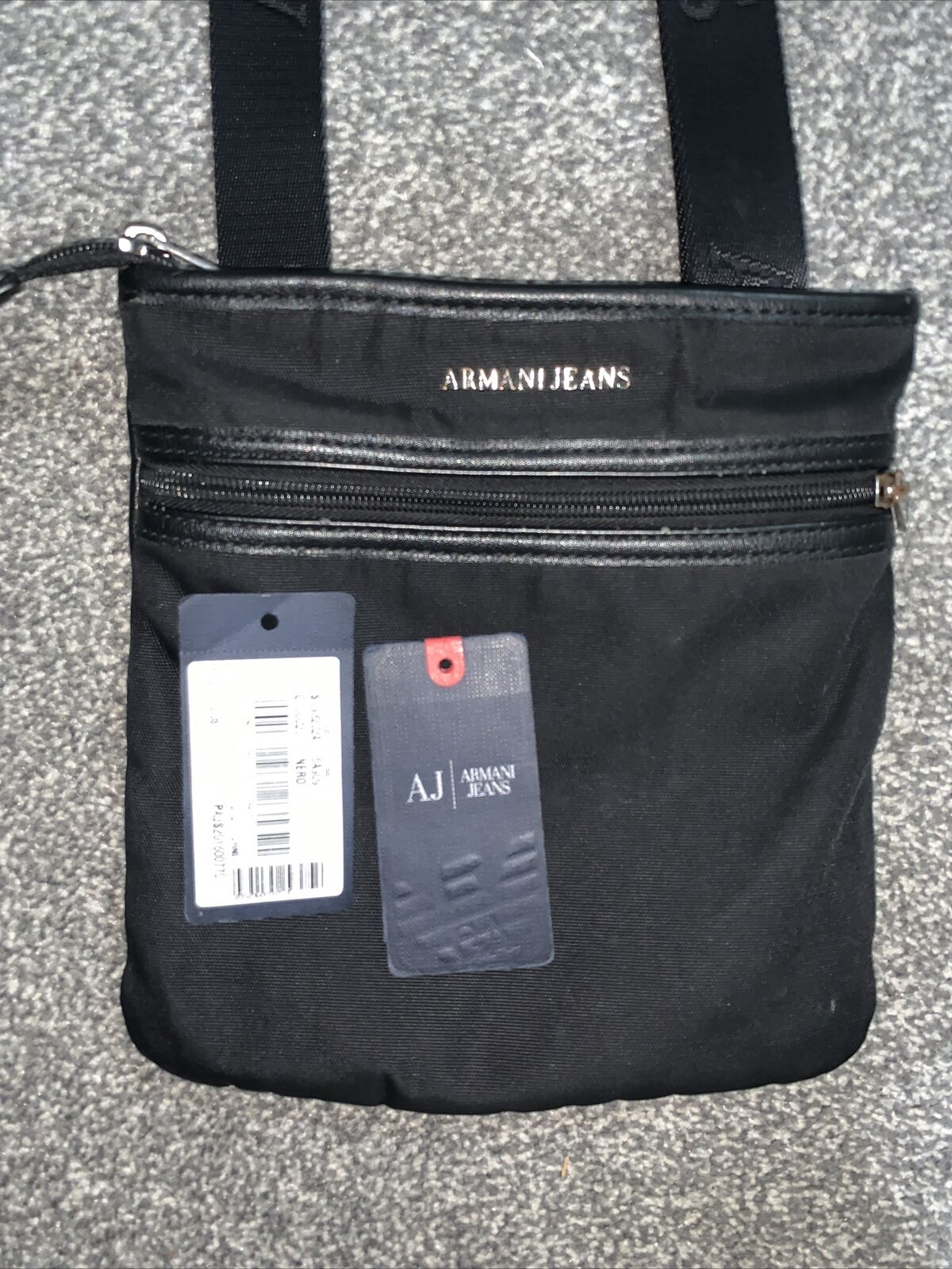 Armani Jeans Man Bag - Free Next Day Delivery ✅