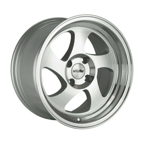 20 Silver//Machined Face Wheel One 15x8 Whistler KR1 4x100