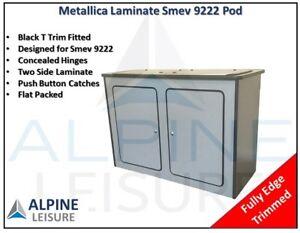 Mercedes-Vito-Caravan-Camper-horsebox-kitchen-Sink-Smev-9222-Pod-unit-Metallica