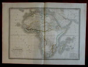 African-Continent-vast-Mts-of-Moon-1831-Lapie-French-large-map